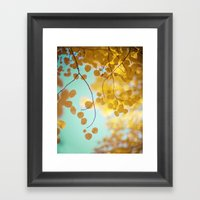 Nature's Gold Framed Art Print