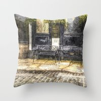 Pub Resting Place Art Throw Pillow