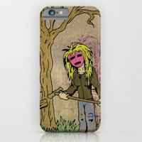 Little Grave Digger Girl iPhone 6 Slim Case