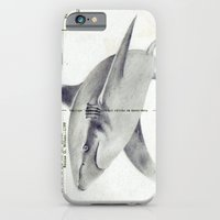 iPhone & iPod Case featuring Postcard Shark by Sarah Sutherland