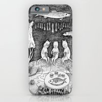 iPhone & iPod Case featuring Knitting Cats by Ulrika Kestere