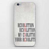 My Evolution, Your Revolution iPhone & iPod Skin