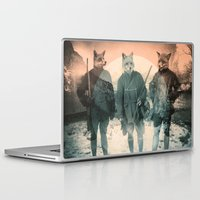 fox Laptop & iPad Skins featuring Fox Hunt by Chase Kunz