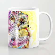 Neon Northern Pygmy Owl Mug