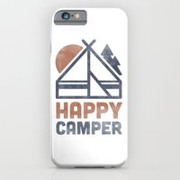 iPhone & iPod Case featuring Happy Camper by Zeke Tucker