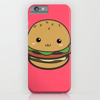 iPhone & iPod Case featuring Cute Hamburguer by Angelus