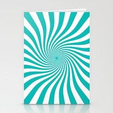 Swirl (Tiffany Blue/White) Stationery Cards