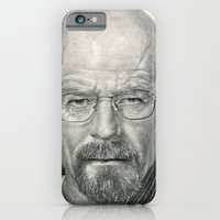 iPhone & iPod Case featuring Bryan Cranston ~ Walter White ~ Breaking Bad by bianca.ferrando