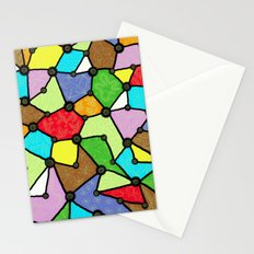 Yzor pattern 130001 Connexions  Stationery Cards