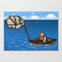 Alternative Travel Canvas Print