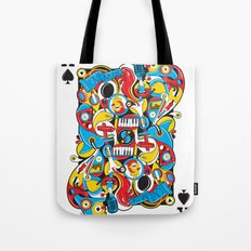 King Of Spades Tote Bag