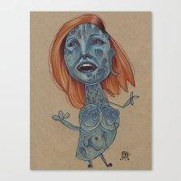 MYSTIQUE MAMBO Canvas Print