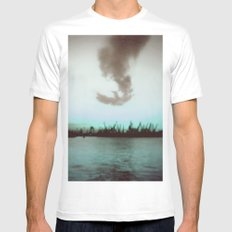 Seagull SMALL White Mens Fitted Tee