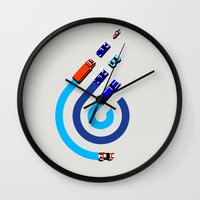 Spy Hunter Wall Clock
