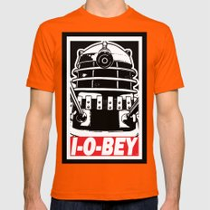 I-O-BEY '74 Mens Fitted Tee Orange SMALL