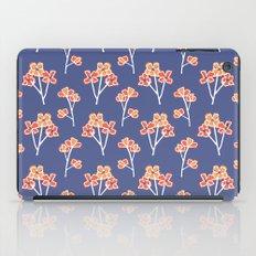 anemone flowers :: lavender iPad Case