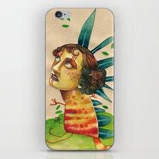 FALLING LEAVES iPhone & iPod Skin