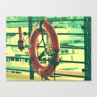 I'd rather drown (my troubles) Canvas Print