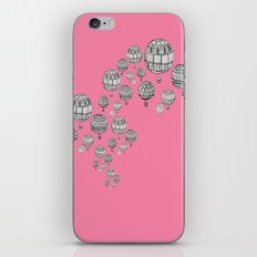 balloons in the pink iPhone & iPod Skin