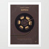 No578 My Super 8 minimal movie poster Art Print