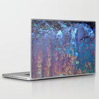 water Laptop & iPad Skins featuring Waterfall  by Lena Weiss