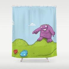 Marshmallow Hunting Shower Curtain