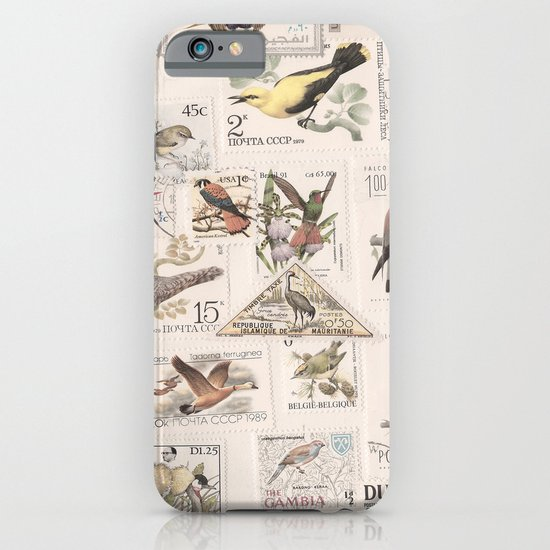 Wonderful World of Birds iPhone & iPod Case