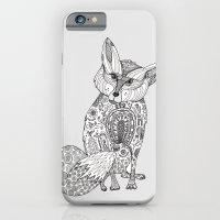 Doodle Fox iPhone 6 Slim Case