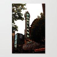 Portland Life Canvas Print