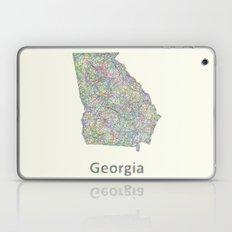 Georgia map Laptop & iPad Skin
