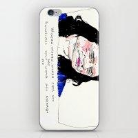 Notorious W.I.S.E.A.U iPhone & iPod Skin