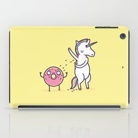 How donuts get sprinkles iPad Case