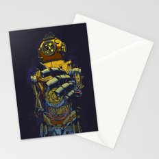Deep Diver Stationery Cards