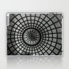 Tiffany Glass Dome Black/White Photography Laptop & iPad Skin