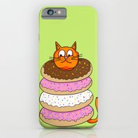 More Cats & Donuts iPhone 6 Slim Case