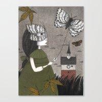 Oda (An All Hallows' Eve Tale) Canvas Print