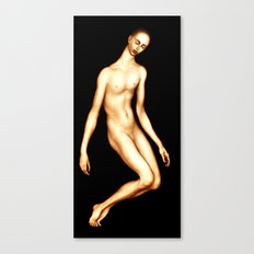 Fluid figure Canvas Print