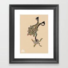 Ovaroom Framed Art Print