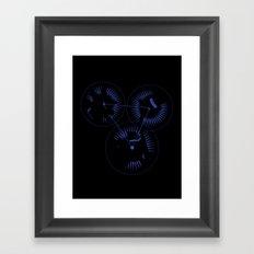 Intertwined Framed Art Print