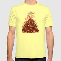 The Red Dress Mens Fitted Tee Lemon SMALL