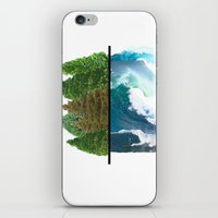 Tree And Surf iPhone & iPod Skin