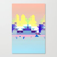 Summer City Canvas Print