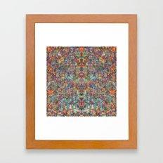 Acid Rain (Reflected) Framed Art Print