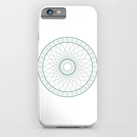 Anime Magic Circle 6 iPhone & iPod Case