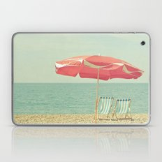 Deserted Beach Laptop & iPad Skin