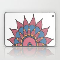 Abstract Sunflower Laptop & iPad Skin