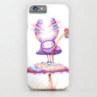 In The Land Of Magic Mushrooms iPhone 6 Slim Case