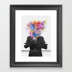Glitch Mob Framed Art Print
