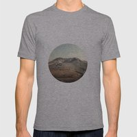 Mt. St. Helens Mens Fitted Tee Athletic Grey SMALL