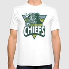 Forest Moon Chiefs Mens Fitted Tee SMALL White